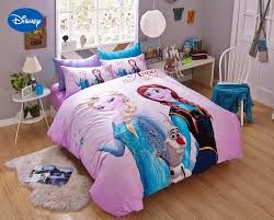 Disney Bedroom Sets For Girls Online Get Cheap Elsa Bed Covers Aliexpress Com Alibaba Group
