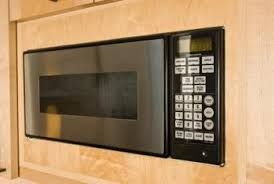 over range microwave no cabinet how to remove a microwave trim kit home guides sf gate
