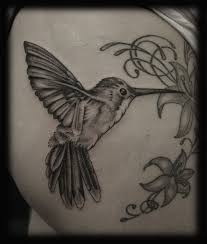 humming bird tattoos hummingbird tattoos black and white