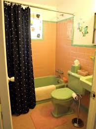 Yellow And Pink Bathroom Kristen And Paul U0027s Midcentury Modest Florida Getaway Retro