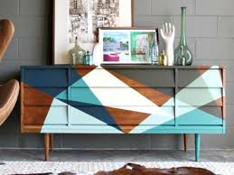 how to strip and refinish a midcentury mod credenza how tos diy