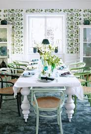 Simple White Dining Room Honeysuckle Life 17 Best Images About Dining Room On Pinterest Set Of Mint Green