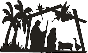 nativity outline clipart 60