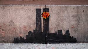 Banksy S Top 10 Most Creative And Controversial Nyc Works - banksy twin tower street art causes controversy in new york youtube