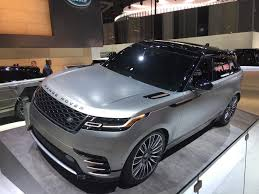 land rover velar 2018 all new 2018 range rover velar automotive rhythms