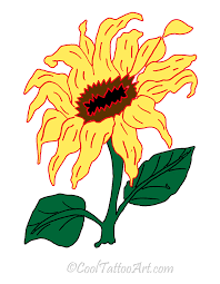 sunflower tattoos art designs cooltattooarts