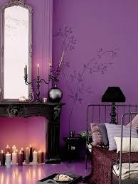 couleur de chambre violet la chambre à coucher violet sans tristesse