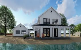french farmhouse plans plan 62650dj modern farmhouse plan with 2 beds and semi detached