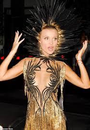Halloween Costume Joanna Krupa U0027s Halloween Costume Flashes Chest