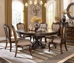 homelegance bonaventure park round oval dining set gold