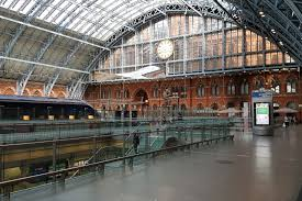 a spinning blade of polished steel in st pancras u2013 ianvisits