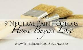 paint colors to sell house three bears home staging