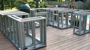 outdoor kitchen island plans metal studs for outdoor kitchen thelodge club