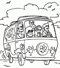 get this scooby doo gang coloring pages 78631