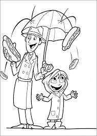 kids fun 32 coloring pages cloudy chance