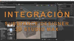 substance designer integracion 3d studio max youtube