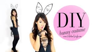 bunny costume diy bunny costume le style