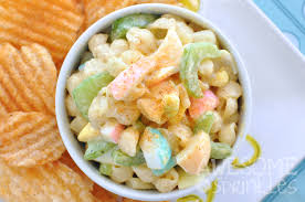 classic pasta salad classic macaroni salad with colored eggs for easter awesome with