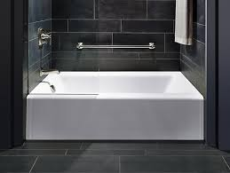 bellwether 60 x 32 alcove bath with integral apron and left