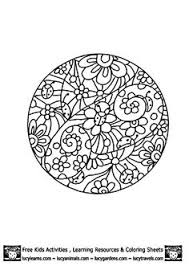 coloring pages print free coloring pages mandala animal