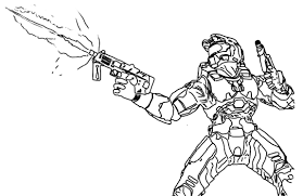 free coloring pages of halo reach brute 13652 bestofcoloring com