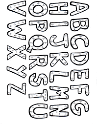 lovely letter coloring pages 51 for your picture coloring page