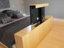 Bed Frame With Tv In Footboard Tv Lift Furniture Eddie Myers Design