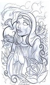 9 best religious tattoo sketches for men images on pinterest
