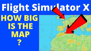 Sahara Desert On World Map by How Big Is The Map Of Flight Simulator X Flying From London To