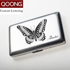 Store Business Credit Cards Aliexpress Com Buy Qoong Rfid Blocking Stainless Steel Men Women