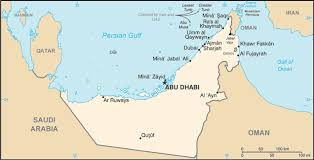 middle east map gulf of oman united arab emirates map driving directions and maps