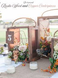 how to make centerpieces how to make a rustic wood wedding centerpiece all things thrifty
