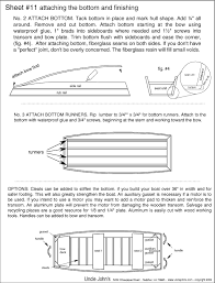 jon boat blueprints how to and diy building plans online class