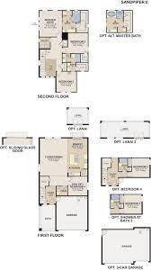 calatlantic floor plans sandpiper ii by calatlantic homes bexley ranch homes for sale
