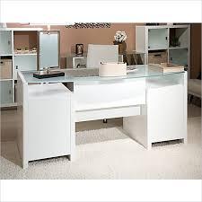 Bush Bennington L Shaped Desk Kathy Ireland Desk Charming White Executive Office Furniture New