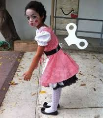 last minute 0 diy wind up doll costume costumes dolls and