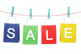 special sale priced items