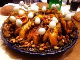 menu cuisine marocaine recette poulet rôti aux amandes recettes de cuisine facile