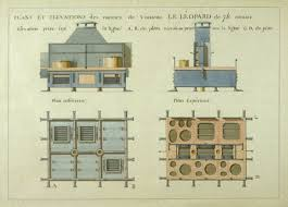 plans cuisines napoleonic shipbuilding drawings plans et elevations des cuisines du