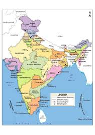 India Political Map Impact Of Conservation And Development On The Vicinity Of Nanda