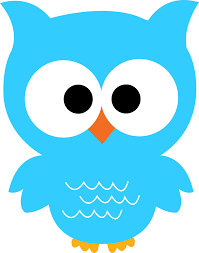 light blue clipart owl pencil and in color light blue clipart owl