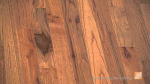 Bruce Hardwood Laminate Floor Cleaner Bruce Plano Marsh Solid Hardwood Flooring The Home Depot Youtube