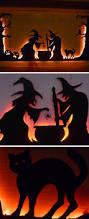 halloween yard decorations best 20 witch silhouette ideas on pinterest garage door