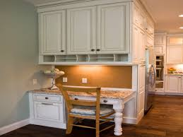 awesome kitchen desk area ideas with kitchen cabinets desk kitchen