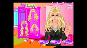 barbie games barbie dress up games barbie u0027s lovely hair care