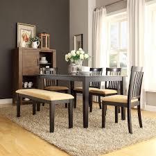 homesullivan 6 piece black dining set 40122d200w 6pc 715w the