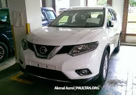 2015 nissan x trail for spied 2015 nissan x trail 2 0 2wd spotted at jpj image 293182