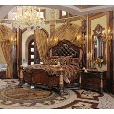 Michael Amini Victoria Palace Pc Eastern King Size Panel Bedroom - California king size canopy bedroom sets