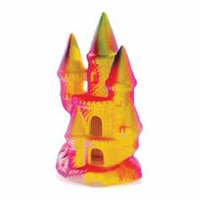 classic neon castle polyresin aquarium ornament pets at home