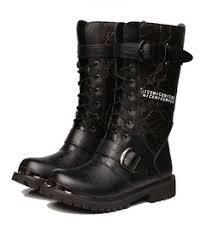 Most Comfortable Military Boots Men U0027s Black Boots Shop Cool Black Boots For Men At Rebelsmarket Com